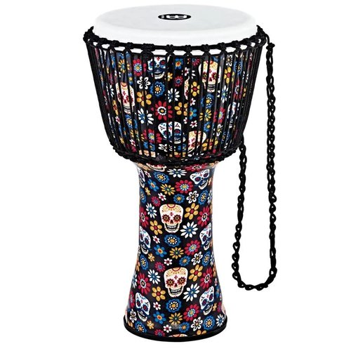 "Meinl Meinl 12"" Travel Djembe - Day Of The Dead"