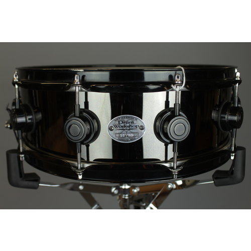 "DW Used DW 5x14"" Black Brass Snare Drum"