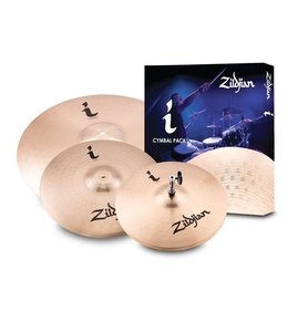 "Zildjian Zildjian I Series Essentials Plus Pack: 13"" HiHat, 14"" Crash, 18"" Crash/Ride"
