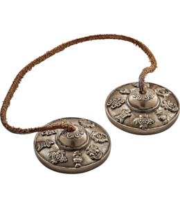 Meinl Meinl Tingsha Cymbals - 8 Luck Symbols (Ashtamangala)