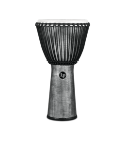 "LP LP World Beat FX 12 1/2"" Rope Tuned Djembe Grey"
