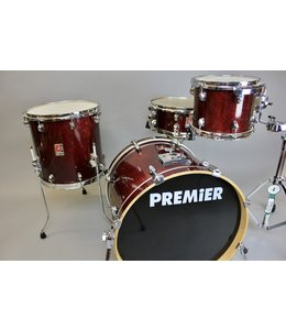 Used Premier XPK 4pc Shell Pack-Burgandy Lacquer