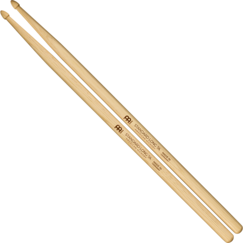 Meinl Meinl Standard Long 7A Hickory Drum Sticks
