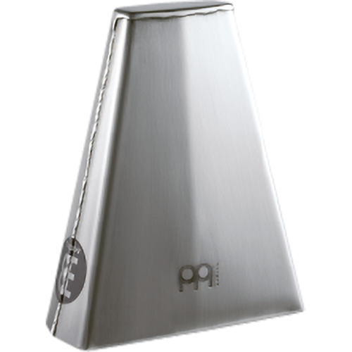 "Meinl Meinl Hand Model 7 3/4"" Hand Brushed Steel Finish Cowbell"