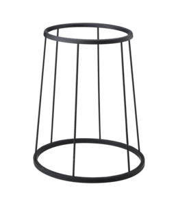 Remo Remo Lightweight Djembe Floor Stand, Black, Fits All Size Djembes