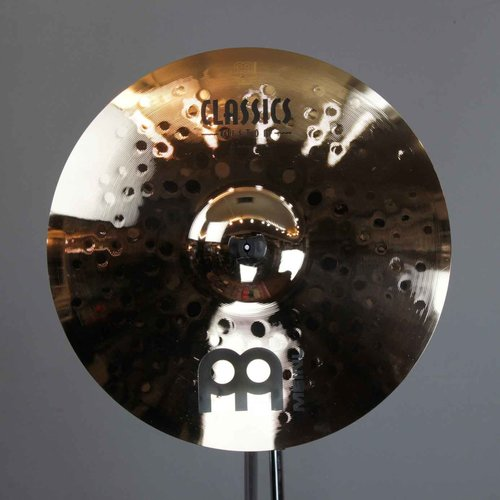 "Meinl Meinl Classics Custom 16"" Medium Crash Brilliant"