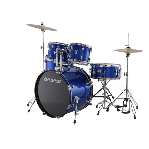 Ludwig Ludwig Accent Drive 5pc Drum Set Blue