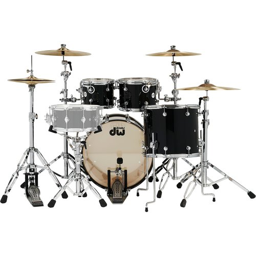 DW DW Design 4pc Holiday Shellpack - Piano Black