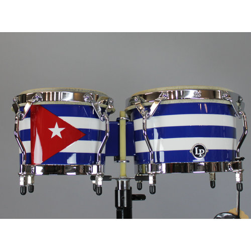 LP LP Matador Series Bongos Cuban Flag