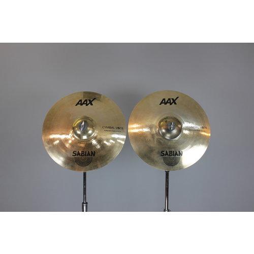 """Sabian Used Sabian AAX X-plosion 16"""" Cymbal Vote Hi-Hats"""
