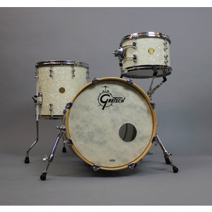 Gretsch Used Gretsch New Classic 3pc Bop Shell Pack-Ivory Marine Pearl