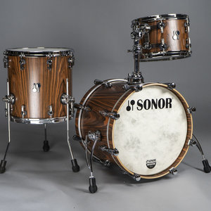 Sonor Sonor SQ2 Medium Maple 3pc Bop Shell Pack-Rosewood Veneer
