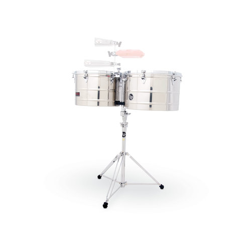 """LP LP Prestige 15"""" & 16"""" Thunder Timbales Stainless Steel"""