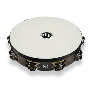 "LP LP 10"" Standard Tambourine with Perfect-Pitch Synthetic Head"