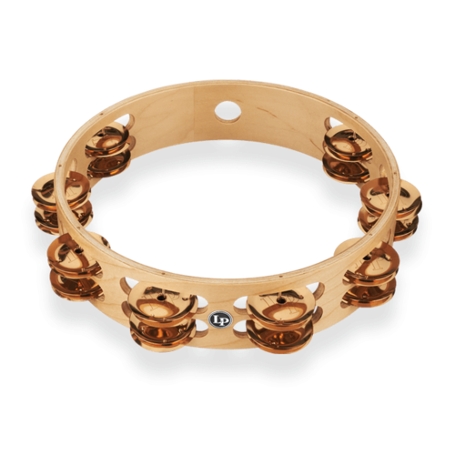 "LP LP Pro 10"" Double Row Tambourine - Bronze"
