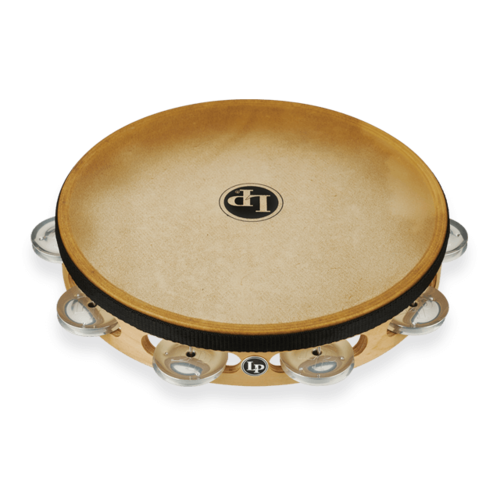 "LP LP Pro 10"" Single Row Headed Tambourine - Aluminum"
