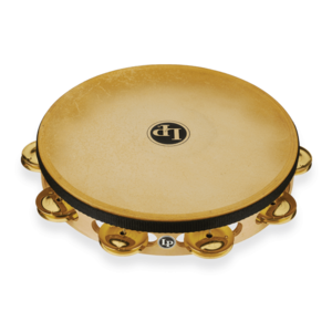 "LP LP Pro 10"" Single Row Headed Tambourine - Brass"