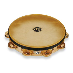 "LP LP Pro 10"" Single Row Headed Tambourine - Bronze"