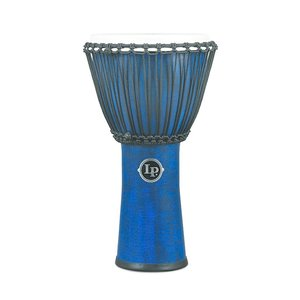 "LP LP World Beat FX 11"" Rope Tuned Djembe Blue"