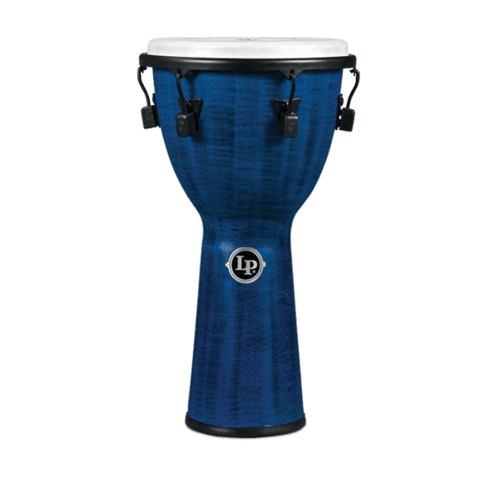 "LP LP World Beat FX 12 1/2"" Mechanical Djembe Blue"