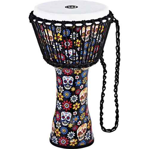 "Meinl Meinl 10"" Travel Djembe - Day Of The Dead"
