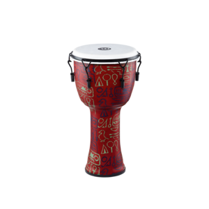 "Meinl Meinl 12"" Travel Series Mechanical Tuned African Djembe Pharaoh's Script"
