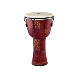 "Meinl Meinl 14"" Travel Series Mechanical Tuned African Djembe Pharaoh's Script w / Goat Skin"