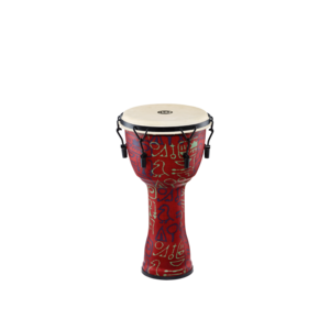 "Meinl Meinl 10"" Travel Series Mechanical Tuned African Djembe Pharaoh's Script w / Goat Skin"