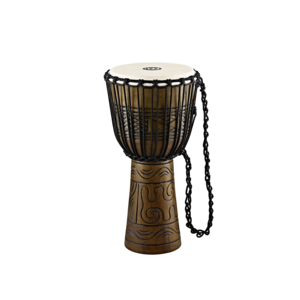 "Meinl Meinl Headliner 12"" Rope Tuned Artifact Series Wood Djembe"