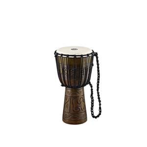 "Meinl Meinl Headliner 10"" Rope Tuned Artifact Series Wood Djembe"