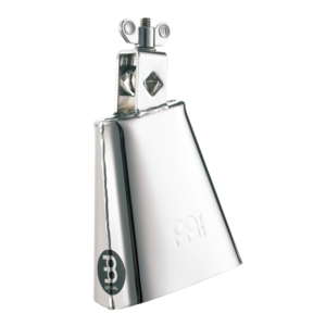 "Meinl Meinl Realplayer Steelbell 4 1/2"" Low Pitch Cowbell in Chrome Finish"