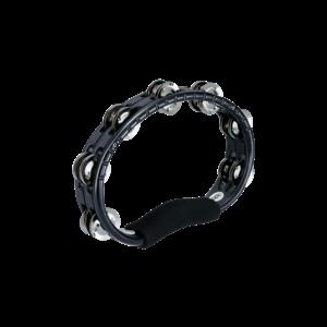 Meinl Meinl A B S Hand Held Tambourine Steel Jingles Black