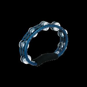 Meinl Meinl A B S Hand Held Tambourine Aluminum Jingles Blue