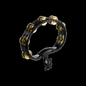 Meinl Meinl A B S Hand Held Tambourine Brass Jingles Black