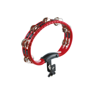 Meinl Meinl ABS Mountable Tambourine Steel Jingles Red