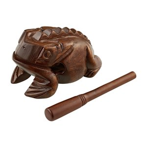Meinl Meinl Wooden Frog Large, African Brown
