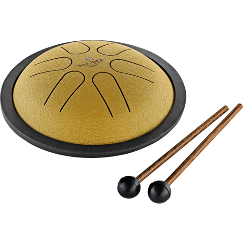 Meinl Meinl Sonic Energy Mini Steel Tongue Drum, B Major, Gold
