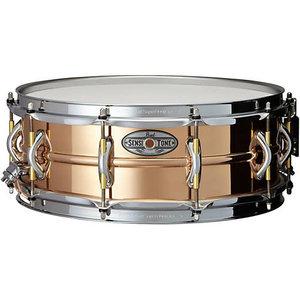 "Pearl Pearl 14X5"" Beaded Phosphor Bronze Sensitone Premium Snare Drum"