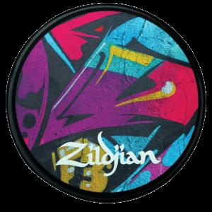 "Zildjian Zildjian Graffiti Practice Pad 6"""