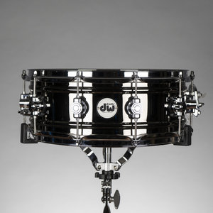 "DW Used DW Design Series 5.5x14"" Black Nickel over Brass Snare Drum"