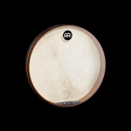 """Meinl Meinl Sea Drum 20""""x 2 3/4"""" w/ Goat Skin & Synthetic Heads African Brown"""