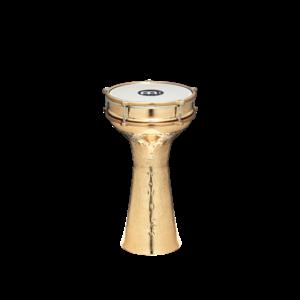 """Meinl Meinl Brass Plated Hand Hammered 7 7/8"""" x 15 1/2"""" Copper Darbuka"""