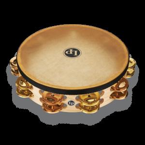 "LP LP Pro 10"" Double-Row Headed Tambourine - Brass/Bronze Hybrid"