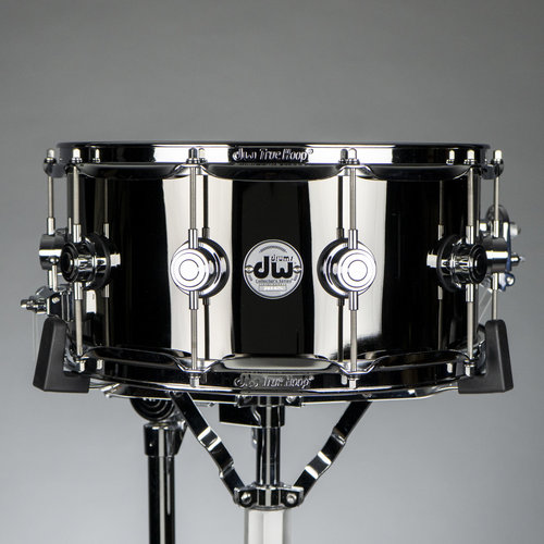 "DW DW Collector's Black Nickel Over Brass 6.5""x14"" Snare Drum (B-Stock)"