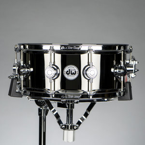 "DW DW Collector's Black Nickel Over Brass 5.5""x14"" Snare Drum (B-Stock)"