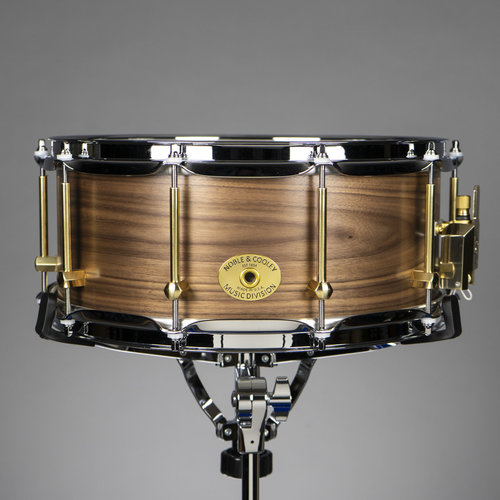 "Noble & Cooley Noble & Cooley Walnut Solid Shell 6x14"" Snare Drum - Satin Oil (SOLD)"