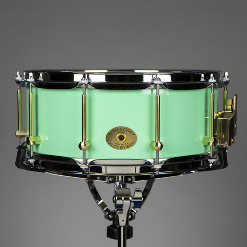 "Noble & Cooley Noble & Cooley Tulip Solid Shell 6x14"" Snare Drum - Seafoam Green"