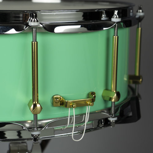 """Noble & Cooley Noble & Cooley Tulip Solid Shell 6x14"""" Snare Drum - Seafoam Green"""