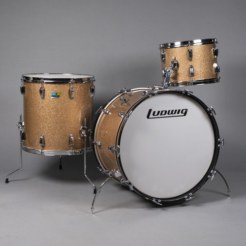 Ludwig Vintage Ludwig 1970 Super Classic 3pc Shell Pack in Champagne Sparkle