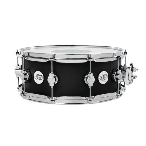"DW DW Design Series 5.5x14"" Snare Drum - Black Satin"
